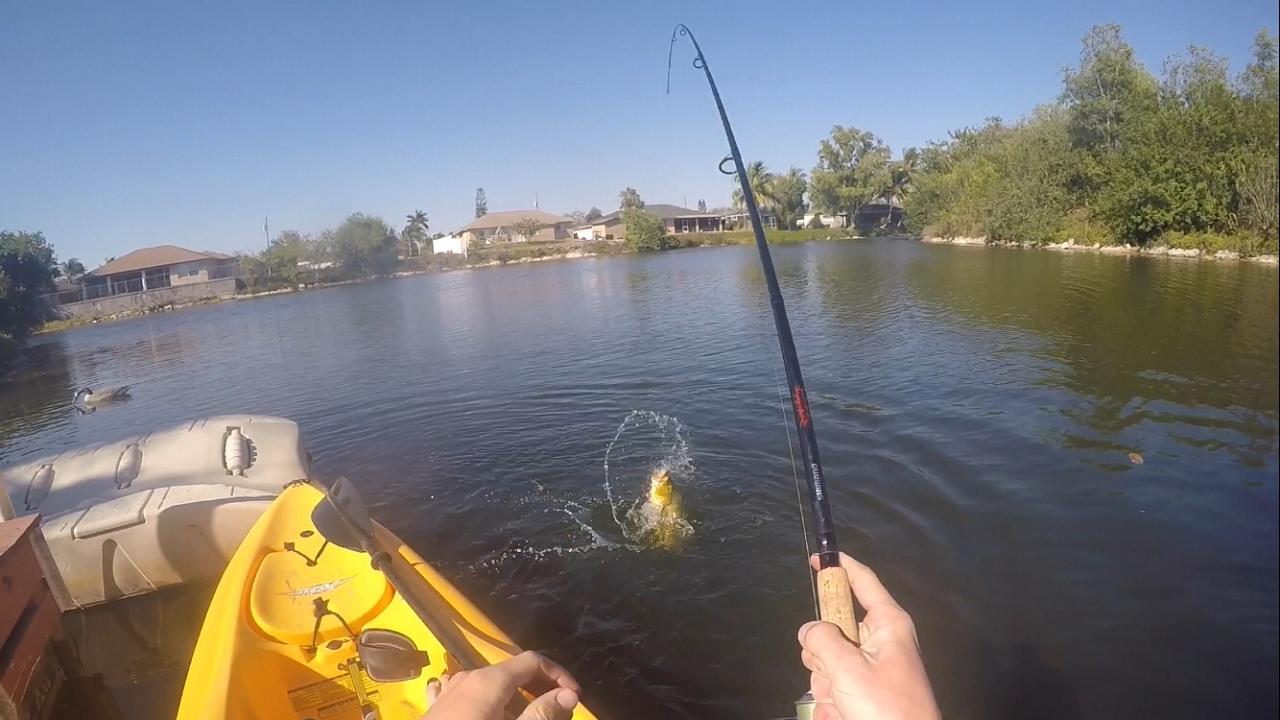 Kayak fishing naples and marco island fl youtube for Youtube kayak fishing