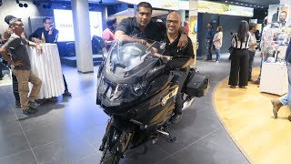 Felicitation by BMW Motorrad India