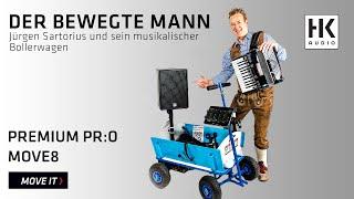 Jürgen Sartorius auf Tour mit dem PREMIUM PR:O MOVE8