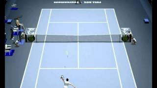 Full Ace Tennis Simulation