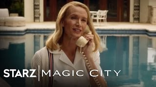 "Magic City | Ep. 2 Scene Clip ""Well Heeled Guests Frolicking"" 