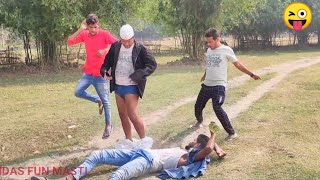 TOP NEW FUNNY COMEDY VIDEO 2020 Try Not To Laugh Challenge New Non-Stop Video | By Bindas Fun Masti