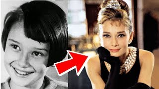 Audrey Hepburn from 1 to 63 years old