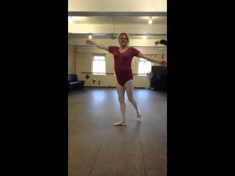 Transgender ballet lesson