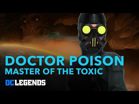 DC Legends: Dr. Poison - Master of the Toxic Hero Spotlight