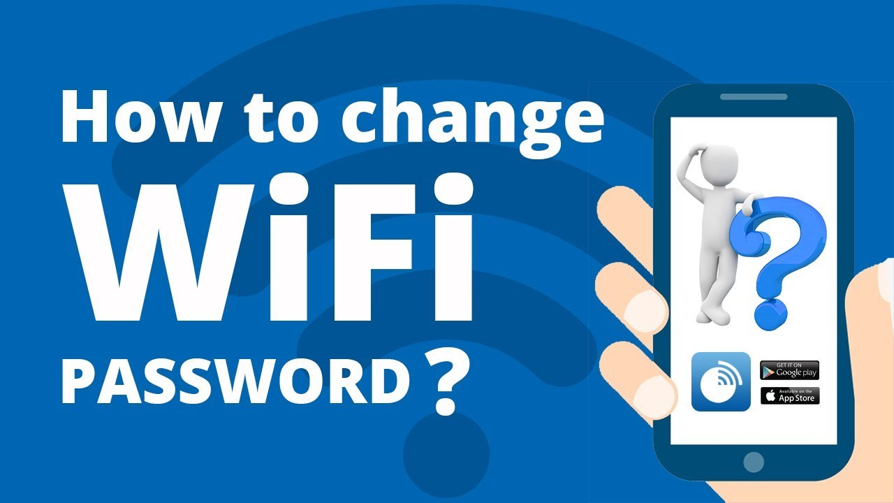 How to login mobile app & change WiFi password?