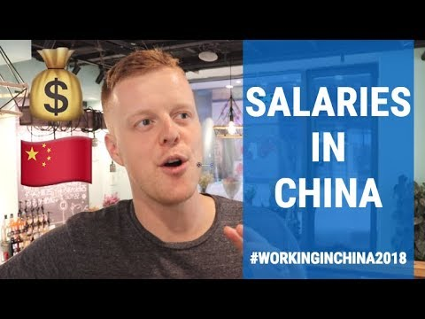 🇨🇳Working In China🇨🇳 How Much MONEY Can You Make? (2018)