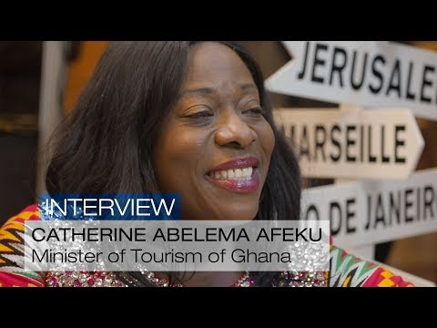 Interview with Catherine Abelema Afeku, Minister of Tourism, Arts and Culture of Ghana