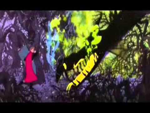 Sleeping Beauty Dragon Maleficent
