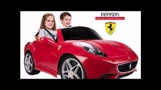 Детский электромобиль феррари Ferrari California