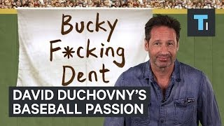 David Duchovny's baseball passion