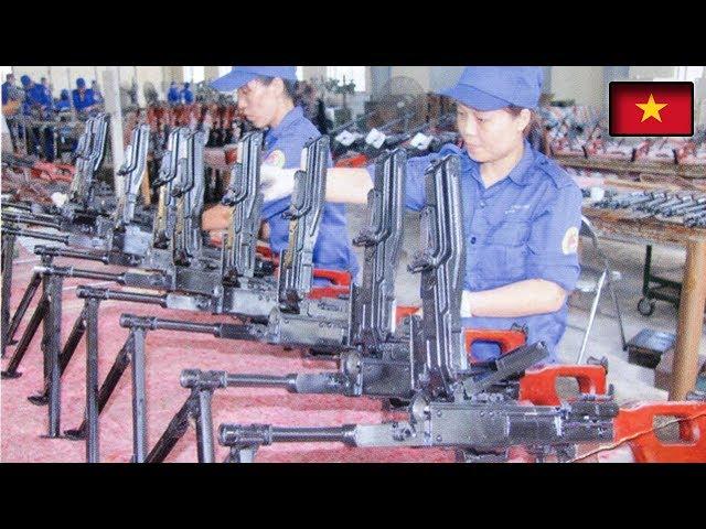 Việt Nam đẩy mạnh sản xuất súng 12,7mm bắn xuyên xe bọc thép tại các nhà máy của Việt Nam