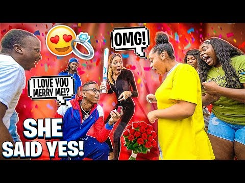I PROPOSED TO MY GIRLFRIEND💍& WE HAD A GENDER REVEAL!👶🏽