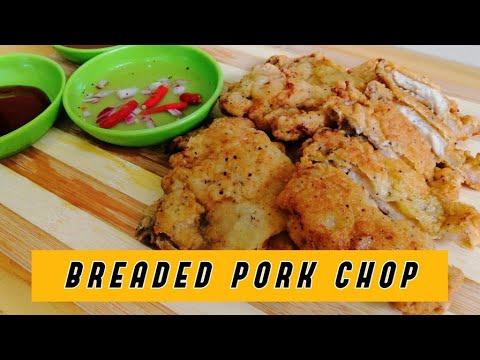 CRISPY BREADED PORK CHOP | Lutong Bahay