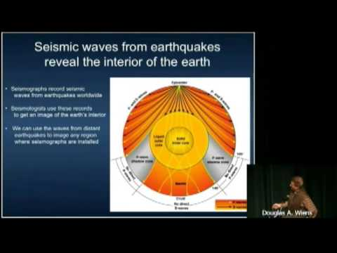 PUBLIC LECTURE: Fire & Ice: Volcanoes, Earth Structure, and the Evolution of the Antarctic Ice Sheet