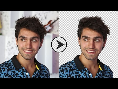 How to Remove Background in Photoshop CC - Using Pen Tool