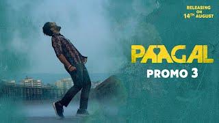 Paagal Release Promo 3 - Vishwak Sen, Nivetha Pethuraj, Simran, Megha | Aug 14th Release Image