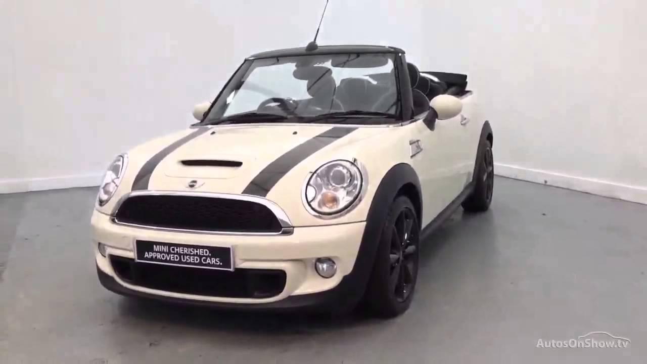 Mini Convertible Cooper S White 2017