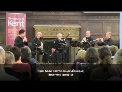 """Nigel Keay; """"Souffle coupé"""" (Épilogue)"""