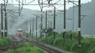快速こがねふかひれ号 松山町駅通過