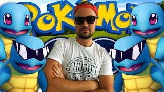 Pokemon Go Let's Play #2 - THE SQUIRTLE SQUAD! W/ Scuba Steve
