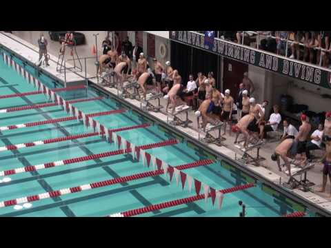 2017 Ivy League Men's Swimming Champs 400 Free Relay