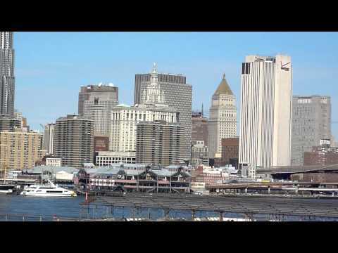 Lower Manhattan from Brooklyn Heights Promenade HD