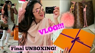 LV Final EXCHANGE UNBOXING! OOTDs! More Cooking! | VLOG