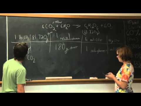 Graduate Students Working Through a Chemistry Problem
