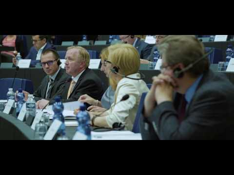 Anne and Arne - Journey into the EU Parliament