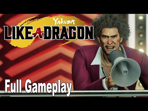 Yakuza Like a Dragon – Full Gameplay Walkthrough [HD 1080P]