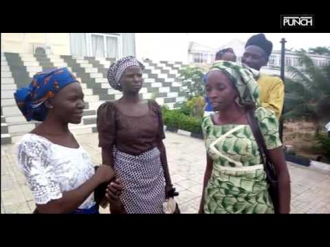 Released Chibok girls' parents arrive in Abuja   Punch