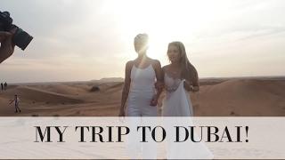 MY FIRST VIDEO IN ENGLISH - DUBAI TRIP
