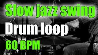 Jazz Drum Loop (brushes)   Slow Swing Ballad   60 BPM screenshot 4