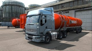 Euro Truck Simulator 2. КОПИМ НА ПЕРВЫЙ TRUCK #6 (руль logitech g29)