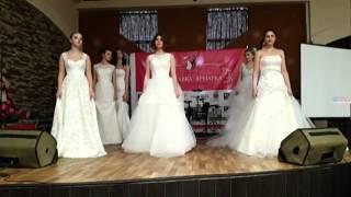 Показ  Свадебные платья Rosmodel модельное агентство