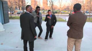 The Funniest African Dance Battle Ever! EME ft. WizKid - Dance For Me