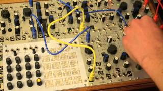 Make Noise STO as modulation source for granular synthesis