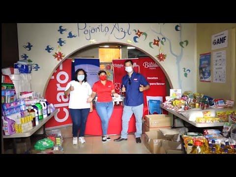 Claro Nicaragua y Betulia Foods se unen por Pajarito Azul