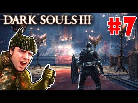 Dark Souls 3 gameplay: CATEDRAL DE LA OSCURIDAD #2 - Gigantes, trampas y BOSS nos esperan! EP.7