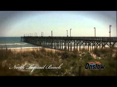 Topsail Island in Onslow County North Carolina has the most beautiful beaches to visit