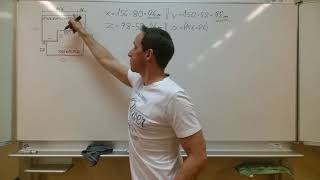Fläche und Umfang von zusammengesetzten Flächen - (Rechteck und Quadrat) - EINKAUFSCENTER
