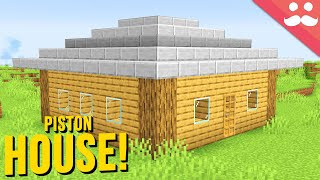 9x9 Piston House in Minecraft 1.16