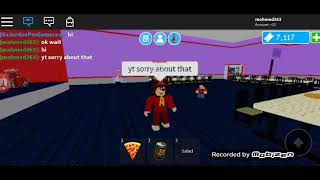 Roblox Chuck e cheese part 1 ft: jordan