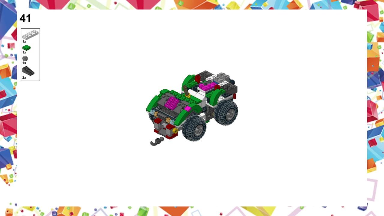 Moc Lego 31037 Atc Buggy Aca D Brick Instruction Youtube