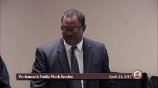 City of Portsmouth, Virginia - Public Work Session - Monday, April 24, 2017 thumbnail