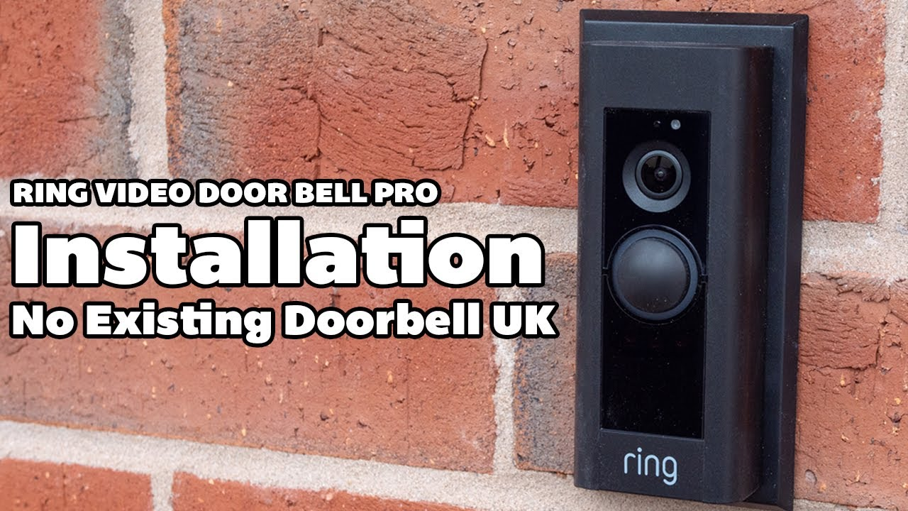 Ring doorbell pro without existing doorbell replacement ratchet straps