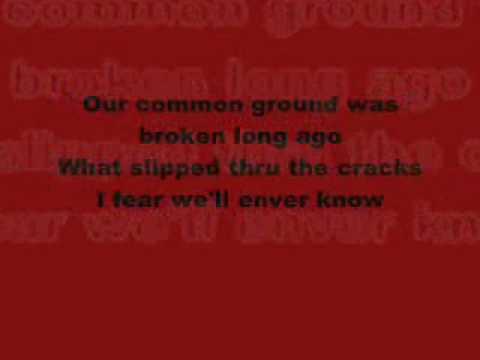 Lifehouse-Bridges Lyrics