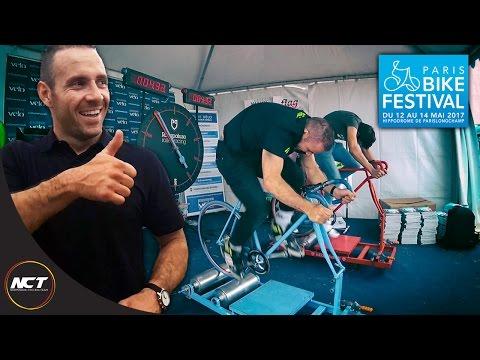On défie François Pervis au Paris Bike Festival