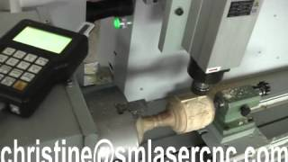 Cx 1200y Cnc Cylinder Engraving Machine, 3d Wood Sculpture Carver